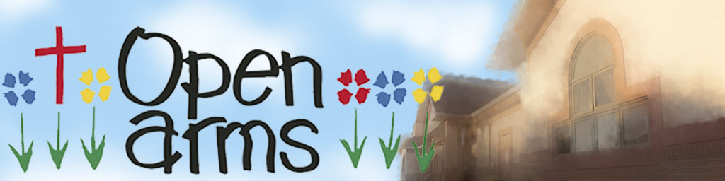 Open Arms Banner